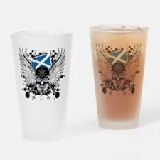 Highland Games Drinking Glass