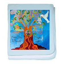 Tree of Life Design baby blanket