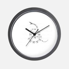 My Rights Don't End Wall Clock