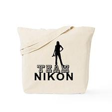 Team Nikon Tote Bag