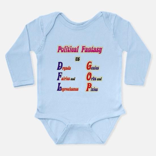 Political Fantasy Long Sleeve Infant Bodysuit