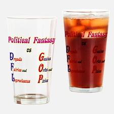 Political Fantasy Drinking Glass
