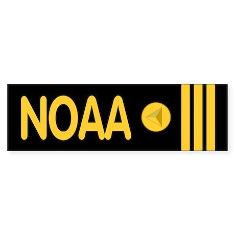 NOAA Commander<BR> Bumpersticker 2