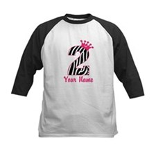 2nd Birthday Zebra Print Tee