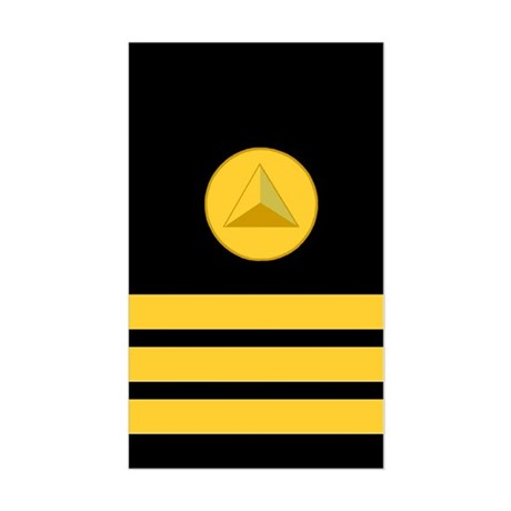 NOAA Commander<BR> Vertical Sticker