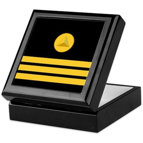 NOAA Commander<BR> Insignia Box