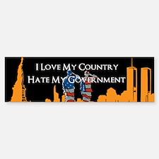 Love My Country Sticker (Bumper)