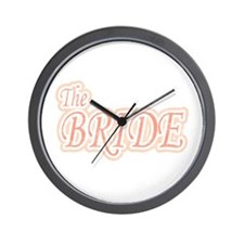 Bride Extravaganza Wall Clock