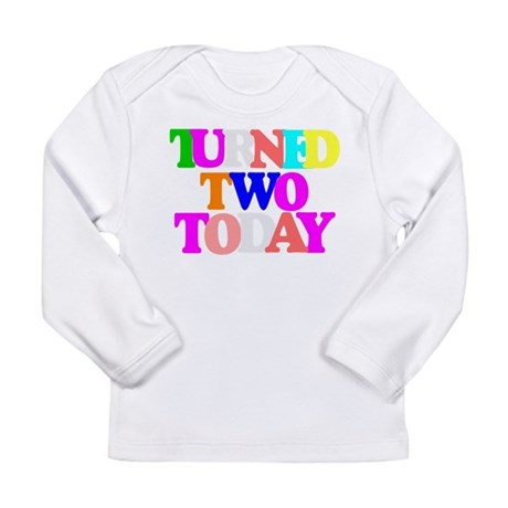 Cute two year old birthday Long Sleeve Infant T-Sh