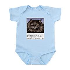Spay/Neuter Cat Infant Creeper