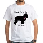 Cocker Spaniel Personalizable I Bark For A Cure Wh