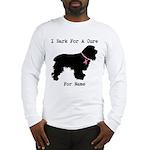 Cocker Spaniel Personalizable I Bark For A Cure Lo