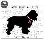 Cocker Spaniel Personalizable I Bark For A Cure Pu