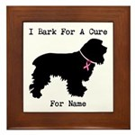 Cocker Spaniel Personalizable I Bark For A Cure Fr