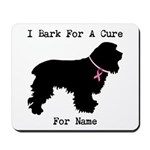 Cocker Spaniel Personalizable I Bark For A Cure Mo