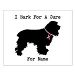 Cocker Spaniel Personalizable I Bark For A Cure Sm