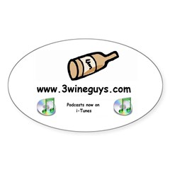 Podcast Oval Decal