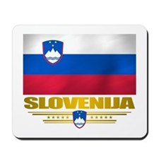 """Slovenia Flag"" Mousepad"