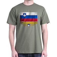 """Slovenia Flag"" T-Shirt"