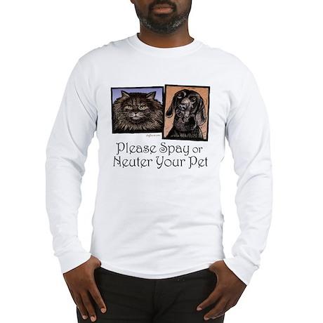 Spay/Neuter Pet Long Sleeve T-Shirt