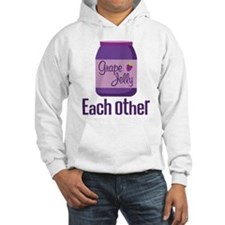 Couples Each Other Jelly Hooded Sweatshirt