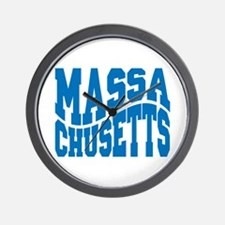 Massachusetts Wall Clock