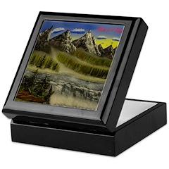 Mountain River Falls Collecti Keepsake Box