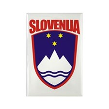 """Slovenia COA"" Rectangle Magnet"