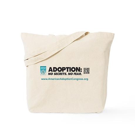 Adoption: No Secrets. No Fear Tote Bag
