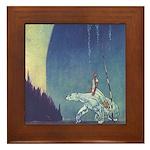 Nielsen's East of Sun Framed Tile