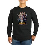 Actor George Stover Long Sleeve Dark T-Shirt