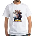 Actor George Stover White T-Shirt