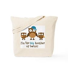 Big Brother of Twins - Mod Owl Tote Bag