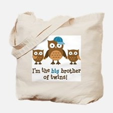 Big Brother of Twins - Mod Owl Tote Bag