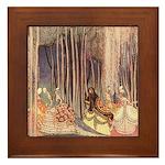 Nielsen's Dancing Princesses Framed Tile