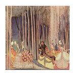 Nielsen's Dancing Princesses Tile Coaster