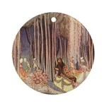 Nielsen's Dancing Princesses Ornament (Round)