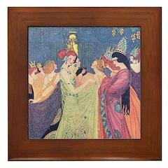 Abbott's Dancing Princesses Framed Tile
