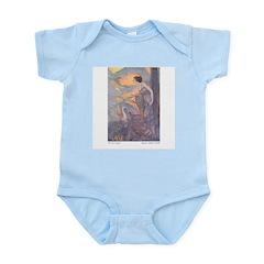 Abbott's Six Swans Infant Creeper
