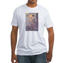 Abbott's Six Swans Fitted T-Shirt