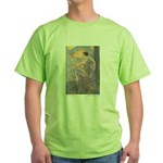 Abbott's Six Swans Green T-Shirt