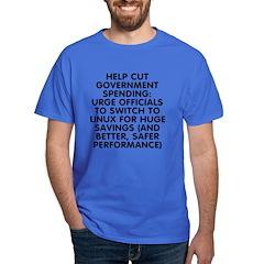 Help cut...Linux - T-Shirt