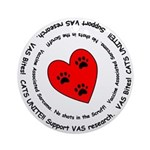 VAS awareness Ornament (Round)