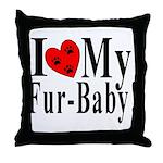 VAS awareness Throw Pillow