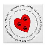 VAS awareness Tile Coaster