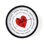VAS awareness Wall Clock