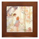 Tarrant's Thumbelina Framed Tile