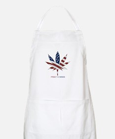 free the weed BBQ Apron