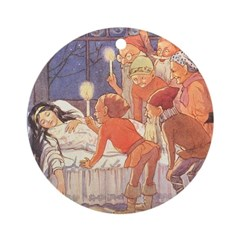 Tarrant's Snow White Ornament (Round)