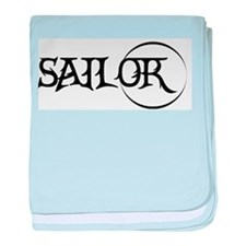 Sailor baby blanket